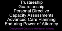 Personal Directive,  Enduring Power of Attorney,  Guardianship