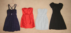 Dresses - sz S, 2, 4, 6 / Leather Jacket sz S, Spring Jkts XS, S