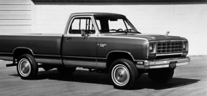 1971 to 1985 Dodge Pickup Truck