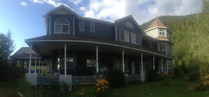 51 Acres,8bd/9 1/2bth, Country Victorian Revelstoke British Columbia image 10