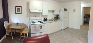 Fully furnished one bedroom+office apartment in Clarenville