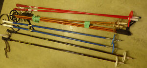 4 pairs of cross-country ski poles $ 5 ea pair Kitchener / Waterloo Kitchener Area image 1