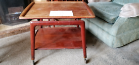 Teak tea trolley possibly ercol or g plan cant find any markings.
