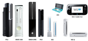 Repair & Servicing XBOX, PS3/PS4, Wii/Wii U, DS/DSi/3DS, PSP!