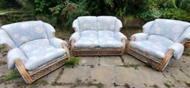 Jakarta conservation cane furniture set