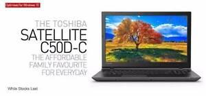 "Toshiba Satellite C50D-C 15.6"" 4GB RAM 500GB Wind 10 AMD Laptop Greenacre Bankstown Area Preview"