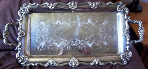 BEAUTIFUL PIECE-ANTIQUE SERVING TRAY