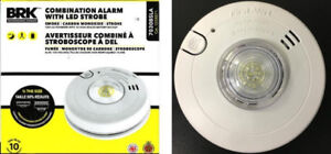 First Alert Combo Smoke / CO Alarm with Strobe Light