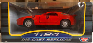 Hot Red Porsche 928 S4 Collector's Edition