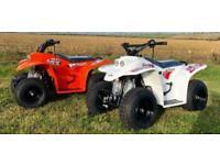 Quadzilla Buzz 2K 50cc Junior Kids Quad ATV White