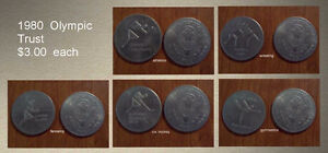 1980 Olympic Trust Coins Kingston Kingston Area image 2