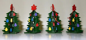 Wooden Tree Ornaments, 4 of
