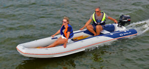 Inflatable fordable canoe Gala CHALLENGER