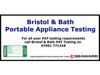PAT Testing Services - Office & commercial PAT testing covering Bristol, Bath & the south west