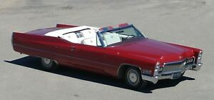 Superb Cadillac 68 fully restored and ready to drive