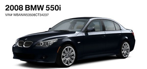 2008 BMW 550 manual - m package
