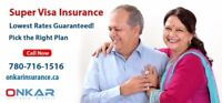 SUPER VISA INSURANCE MONTHLY PLANS AVAILABLE