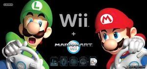Nintendo Wii Mariokart Console