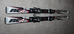 Youth Racing Skis Fisher RC4 140cm
