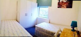 CHEAP NEW DOUBLE/TWIN ROOM, 8 MNT WALK CANNING TOWN, CANARY WHARF, STRATFORD, ZONE 2, SPANISH SPOKEN