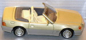 1992 Mercdes-Benz 600SL in 1/43 scale
