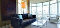 Furnished 1 Bdr and Den Condo in Vancouver Available Immediately