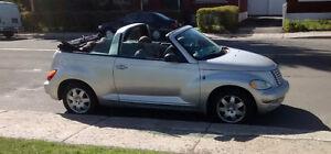 2005 Chrysler PT Cruiser décapotable  75800 kms !!!