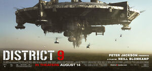 District 9 Giant Movie Banner 6X9