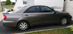 Toyota Camry 2002 manual transmission
