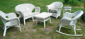 5-pc WICKER SET-a