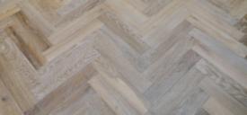 Wood floor sanding install herringbone London 07414217804