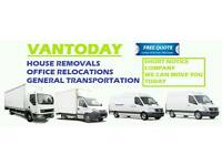House Removals, Man and Van Hire, Furniture Assembly, Man with Van in Essex and London.