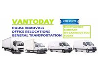 House Removals Services, Man and Van Hire, Couriers and Deliveries, Rubbish Clearance, Essex,London