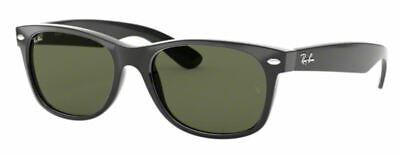 Ray-Ban Herren Damen Sonnenbrille RB2132 901L NEW WAYFARER 55mm schwarz S L7