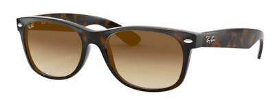 Ray-Ban Damen Herren Sonnenbrille RB2132 710/51 52mm NEW WAYFARER  Braun S A3