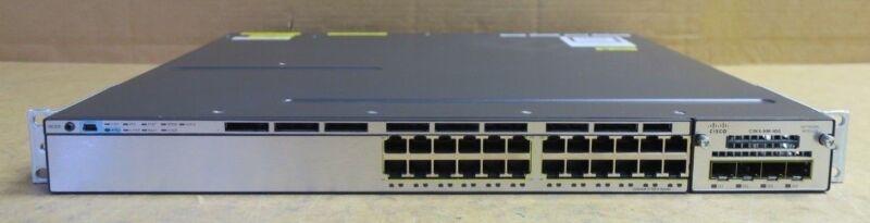 Cisco Catalyst Ws-c3750x-24t-s 24-port Gigabit Ethernet Switch With C3kx-nm-10g