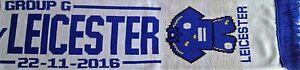 Leicester City Football Scarf / Scarves / Memorabilia