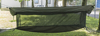 US Jungle Hängematte Canvas oliv, Liege, Camping, Outdoor, Military  -NEU-
