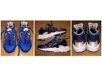 Nike Huarache Blue Camo Unisex childrens size 4