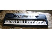 Yamaha PSR-280 Keyboard with storage/carry bag