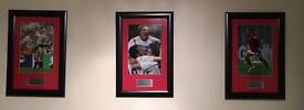 Special edition framed sports pictures