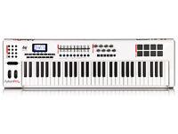 M-Audio Axiom Pro 61 Midi Controller Keyboard Avid Advanced 61-Key USB