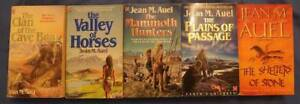 """EARTH'S CHILDREN PAPERBACK NOVELS """"CLAN OF CAVE BEAR"""" SERIES"""