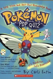 Pokemon Pop quiz