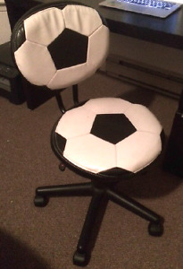 Kids soccer desk chair