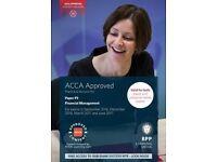 ACCA F9 BPP exam kit up to June 17