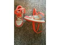 Girls size 7 next shoes