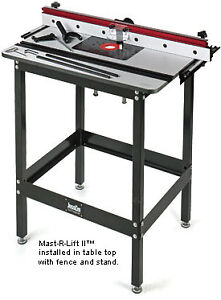 JessEm Mast-R-Lift II Router Mount & Table