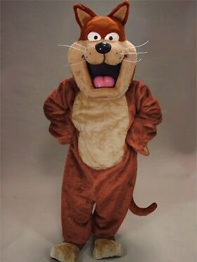 Fat Cat Mascot Costume