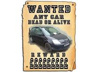 SCRAP CARS AND VANS WANTED CASH PAID FOR ALL VEHICLES SELL MY CAR WE BUY ANY CAR OR VAN OR CARAVAN
